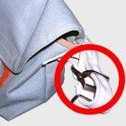 商品の説明写真1: メッセンジャーバッグ用バックル 50mm