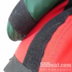 商品の説明写真1: 面ファスナー50ミリ幅「フック」&「ループ」セット(ブラック)