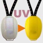 商品の説明写真3: UVジッププル(S)ゴム製コード3個入り