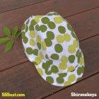 商品の説明写真2: 手ぬぐい サイクルキャップ 緑茶玉